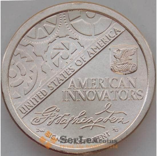 США 1 доллар 2018 UNC Американские инновации Двор P арт. 13349
