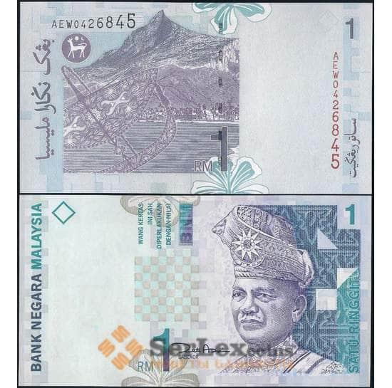 Малайзия 1 ринггит 1998 Р39 UNC арт. 21997