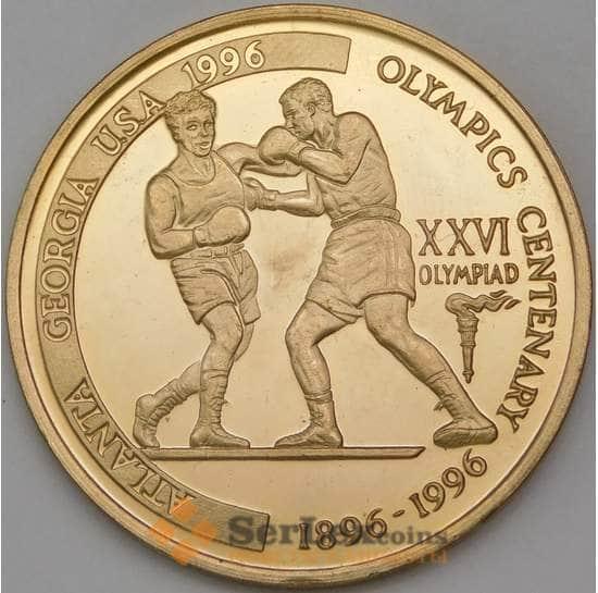 Танзания 2000 шиллингов 1996 Бокс Атланта арт. 29611