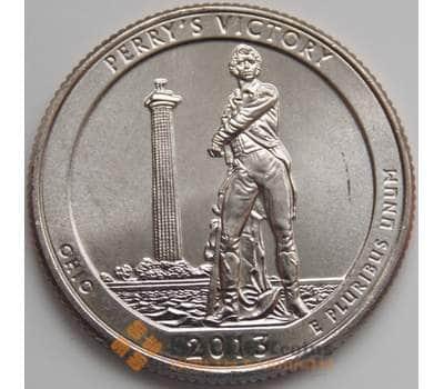 США 25 центов 2013 17 парк Перри Виктори D арт. 1404