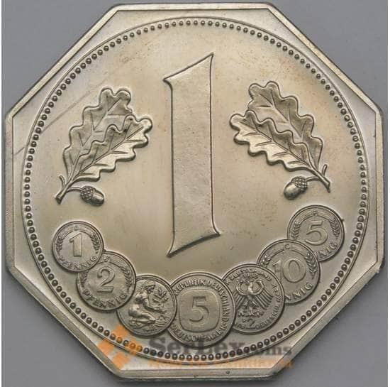 Германия жетон 1988 40 лет Валюте 39 мм арт. 26287