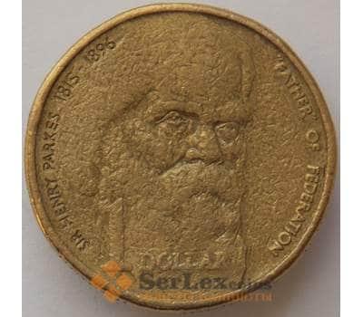 Австралия 1 доллар 1996 КМ310 VF сэр Генри Паркс (J05.19) арт. 17277
