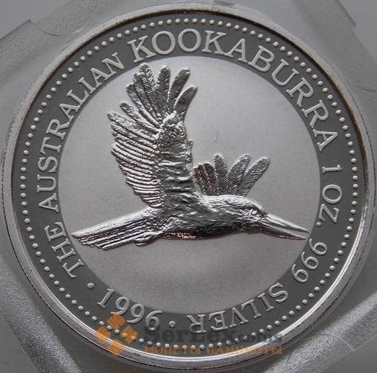 Австралия 1 доллар 1996 Proof Кукабарра (АЮД) арт. 13441