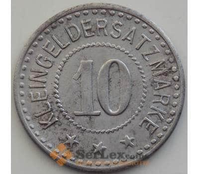 Германия нотгельд 10 пфеннигов 1917 aUNC Кобург арт. 12919