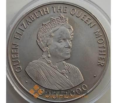Остров Святой Елены 50 пенсов 2000 BU Королева мать арт. 13826