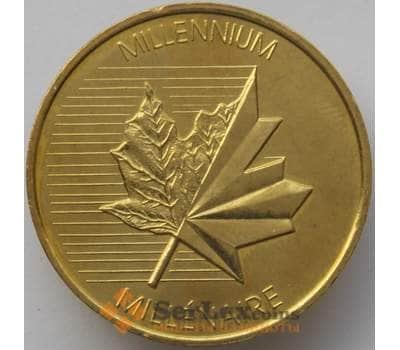 Канада Токен 2000 Миллениум aUNC (J05.19) арт. 17418