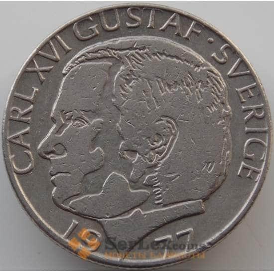Швеция 1 крона 1976-2000 КМ852 XF арт. 11204