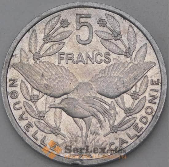 Новая Каледония 5 франков 1991 КМ16 XF арт. 28242