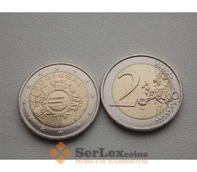 Португалия 2 евро 2012 10 лет евро арт. С00070
