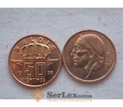 Бельгия 50 сентим 1998 КМ148.1 UNC арт. С00135