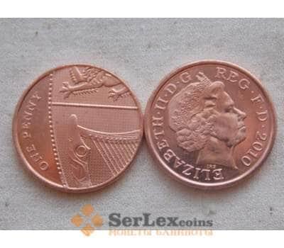 Великобритания 1 пении 2010 КМ1107 UNC арт. С00157