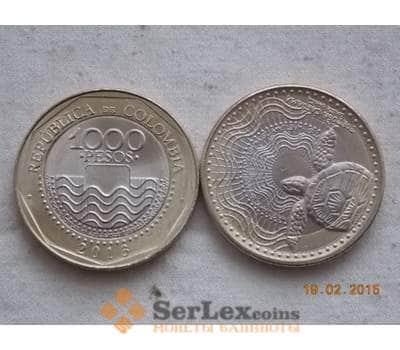 Колумбия 1000 песо 2013 КМ 299 unc фауна арт. C00197
