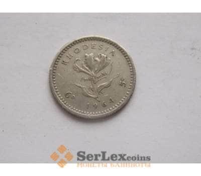 Родезия 5 центов 1964 КМ1 VF арт. C00099