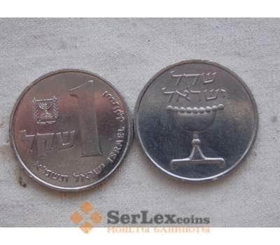 Израиль 1 шекель 1981-1984 КМ 111 unc арт. C00186