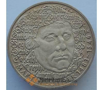 Германия 5 марок 1983 КМ159 UNC Мартин Лютер (J05.19) арт. 16296