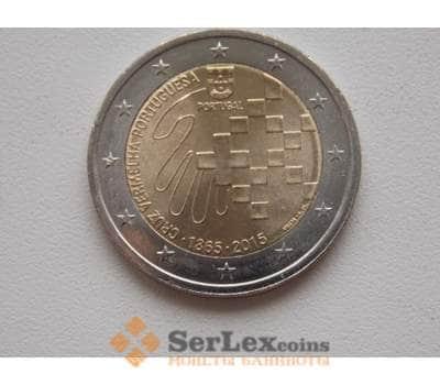 Португалия 2 евро 2015 Красный крест арт. С00526