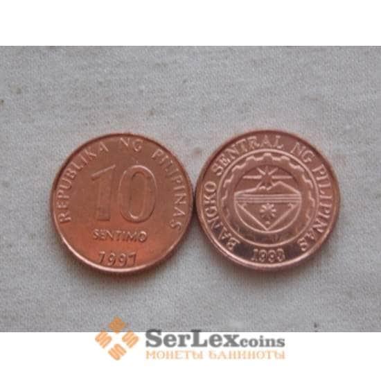Филиппины 10 сентим 1997 КМ270-1 unc арт. C00694