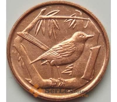 Каймановы острова 1 цент 1999-2013 КМ131 aUNC арт. С01087