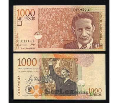 Колумбия 1000 песо 2009-2015 UNC №456 арт. В00308