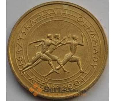 Польша 2 злотых 2004 Y516 UNC XXVIII Олимпийские игры г Афины арт. С01284