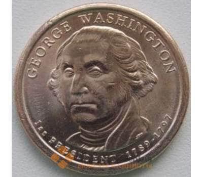 США 1 доллар 2007 1 Президент Вашингтон Р арт. С01396