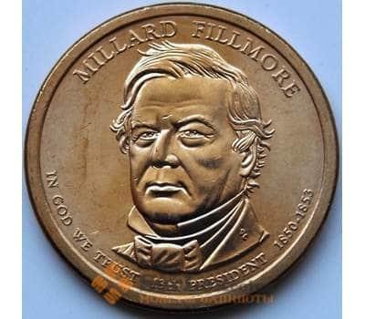 США 1 доллар 2010 13 президент Филлмор арт. С01391