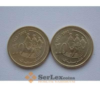 Марокко 10 сантим 2002 Y114 арт. С01673