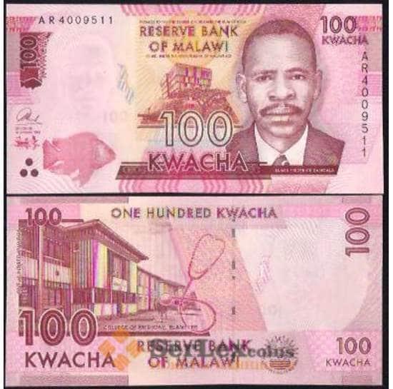 Малави 100 Квача 2011-15 UNC №54 арт. В00015