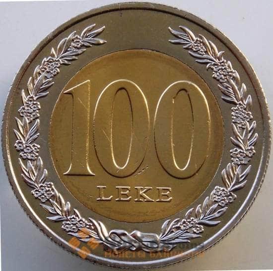 Албания 100 лек 2000 КМ80 UNC из ролла арт. 13721