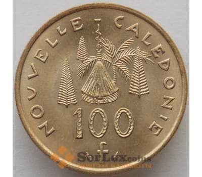 Новая Каледония 100 франков 1976 КМ15 UNC (J05.19) арт. 15270