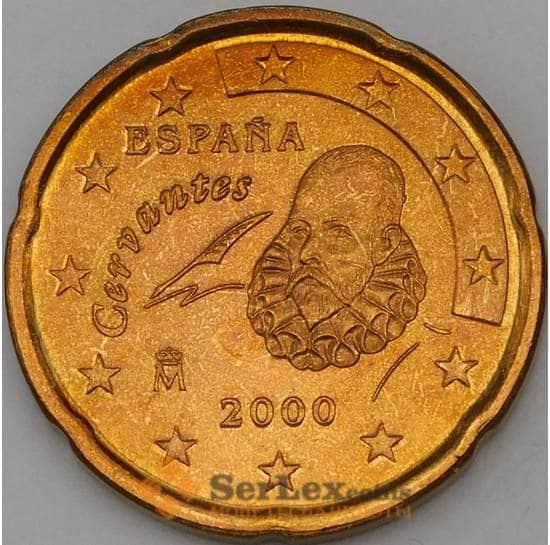Испания 20 евроцентов 2000 BU наборная арт. 28828