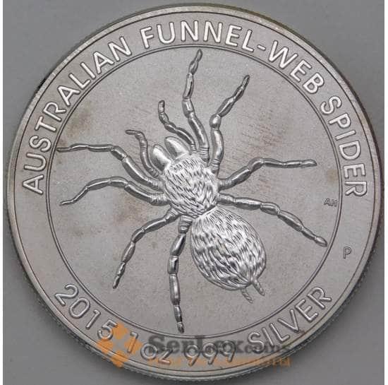 Австралия 1 доллар 2015 Паук Копия арт. 28840
