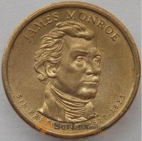 США 1 доллар 2008 P КМ426 aUNC Президент Монро арт. 15402