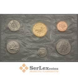 Канада набор 1 цент - 1 доллар (6шт) 1992 BU арт. 21692