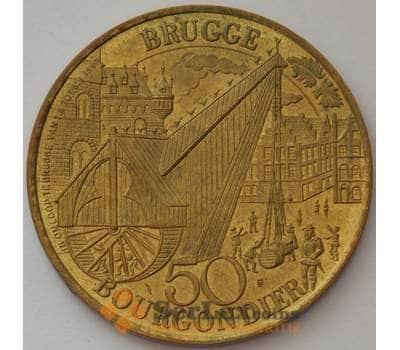 Нидерланды медаль жетон Брюгге 1982 UNC Мария Бургундская (J05.19) арт. 16193