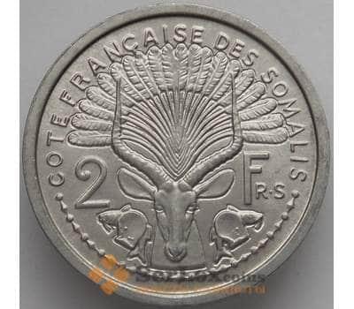 Французское Сомали 2 франка 1959 КМ9 UNC (J05.19) арт. 17353