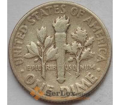 США дайм 10 центов 1950 КМ195 VF+ арт. 12822