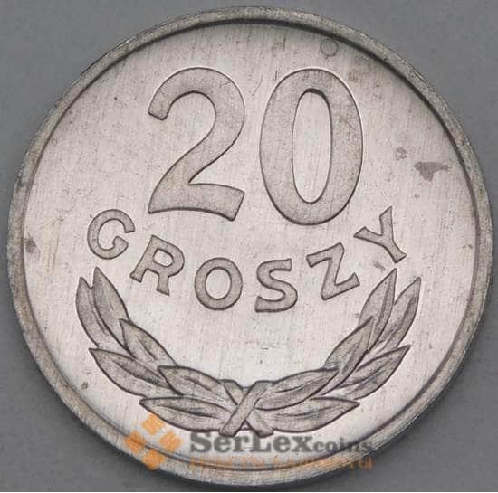 Польша 20 грошей 1985 YА47 UNC арт. 26971