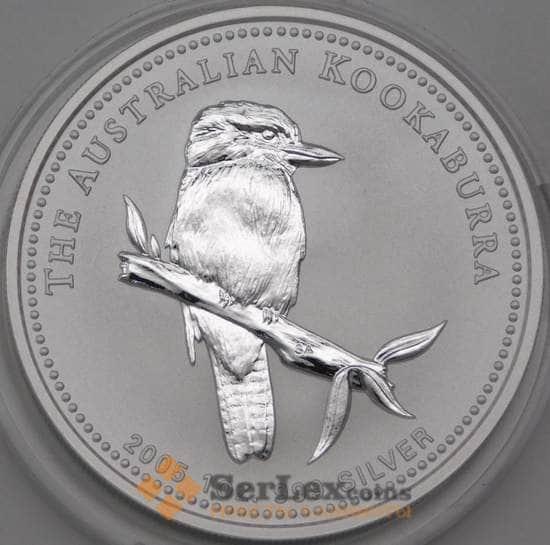 Австралия 1 доллар 2005 Proof Кукабарра арт. 28428