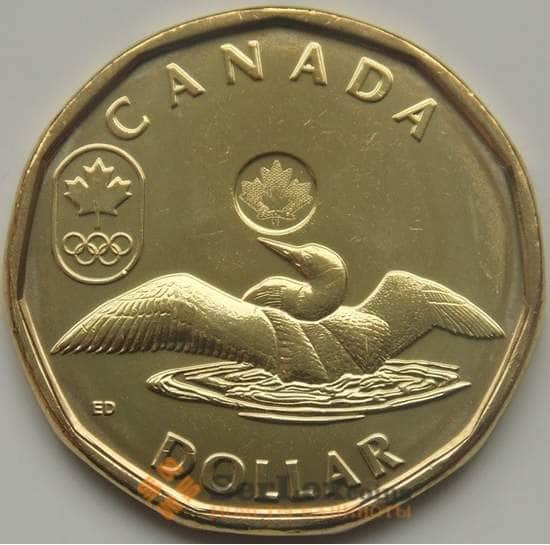 Канада 1 доллар 2012 Олимпийские игры Лондон UNC арт. 5358