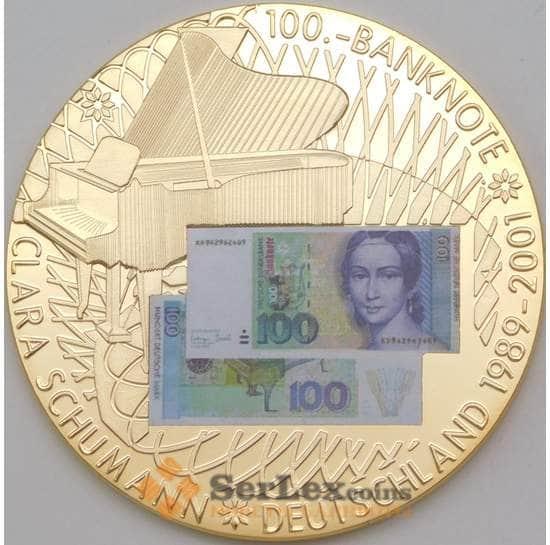 Германия медаль 2001 Клара Шуманн арт. 26538