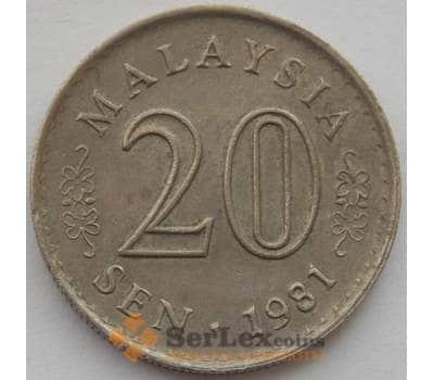 Малайзия 20 сен 1981 XF (J05.19) арт. 16683