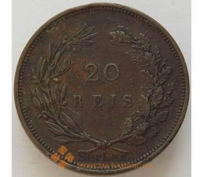Португалия 20 рейс 1892 КМ533 VF Карлос I (J05.19) арт. 16634
