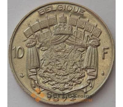 Бельгия 10 франков 1972 КМ155 UNC Belgique (J05.19) арт. 16203