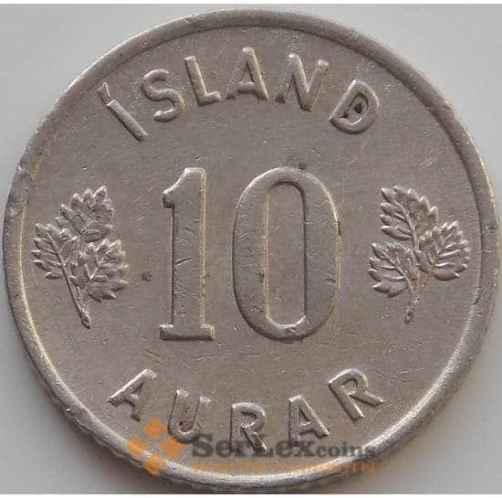 Исландия 10 эйре 1946-1969 КМ10 VF арт. 9248