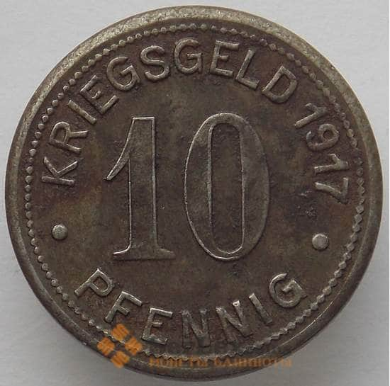 Германия Нотгельд 10 пфеннигов 1917 Боттроп (J05.19) арт. 16541
