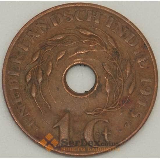 Нидерландская Восточная Индия 1 цент 1945 S КМ317 XF (J05.19) арт. 17778