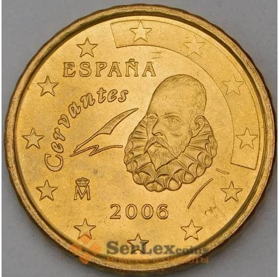 Испания 10 евроцентов 2006 BU из набора арт. 28745