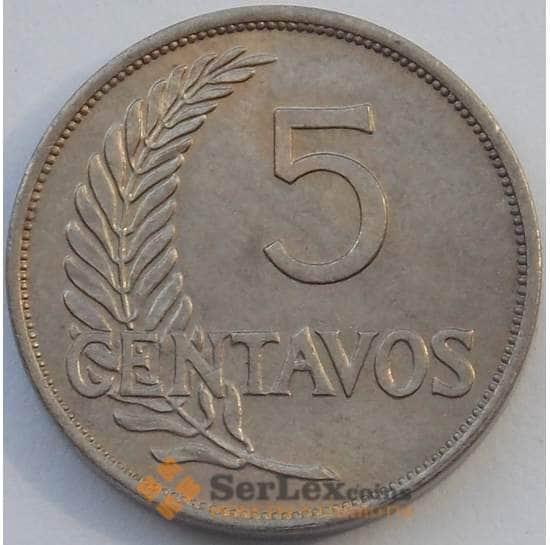 Перу 5 сентаво 1940 КМ213 aUNC (J05.19) арт. 17367