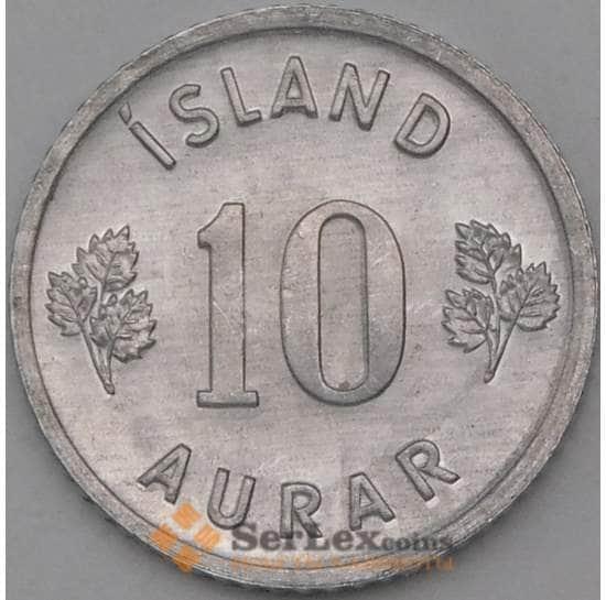 Исландия 10 эйре 1974 КМ10а UNC арт. 26979